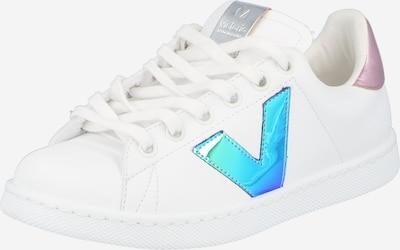 VICTORIA Sneaker in neonblau / pink / weiß, Produktansicht