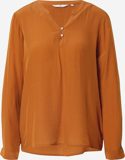 TOM TAILOR Bluse in cognac, Produktansicht