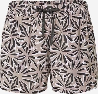 ESPRIT Pyžamové kalhoty - šedobéžová / černá / bílá, Produkt