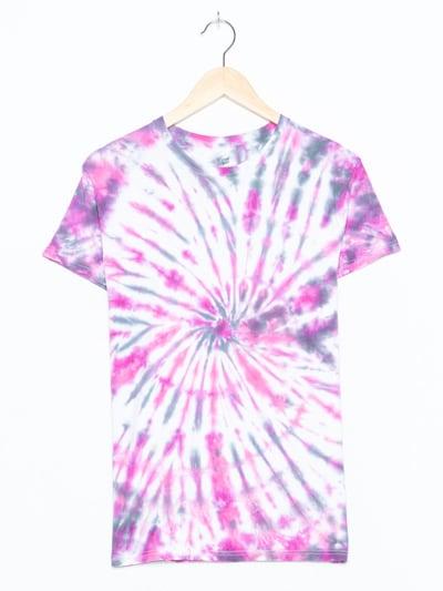 Hanes Tie Dye Shirt in M in lila, Produktansicht