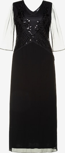 Ulla Popken Abendkleid in schwarz, Produktansicht