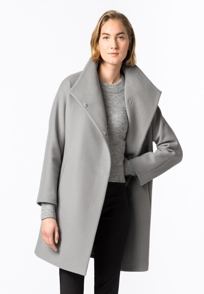 HALLHUBER Winter Coat in Grey, View model
