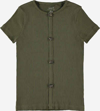 NAME IT T-Shirt 'Ribsa' in khaki, Produktansicht