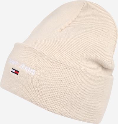Tommy Jeans Mütze in creme / dunkelblau / rot / weiß, Produktansicht