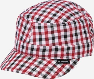 BRUNO BANANI Cap in rot / schwarz / weiß, Produktansicht