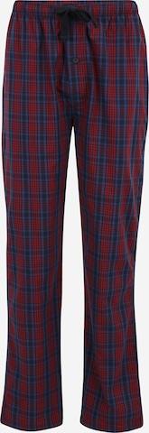 TOM TAILOR Pidžaamapüksid, värv punane
