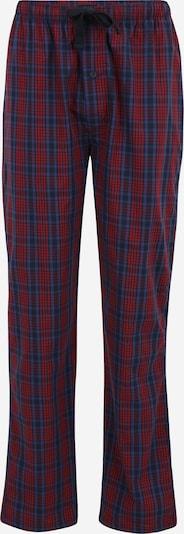 TOM TAILOR Pyjamabroek in de kleur Marine / Rood, Productweergave