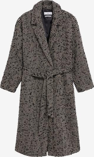 MANGO Prechodný kabát 'Fox' - svetlobéžová / čierna, Produkt