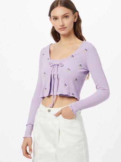 Cotton On Set 'VIOLETTA' in hellgrün / lila / dunkellila, Modelansicht