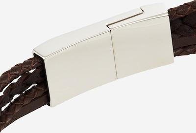 TOMMY HILFIGER Armbånd i brun / sølvgrå, Produktvisning