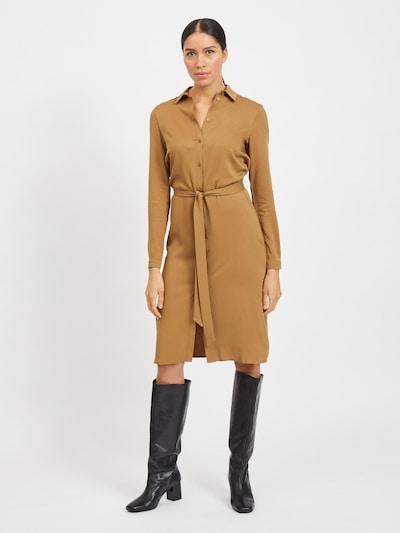 VILA Košeľové šaty 'Dania' - koňaková, Model/-ka