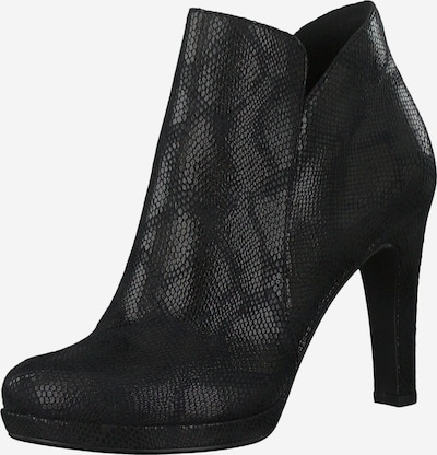 TAMARIS Ankle Boots in silbergrau / schwarz, Produktansicht