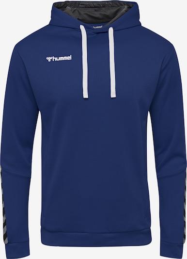 Hummel Sportsweatshirt in blau / schwarz, Produktansicht