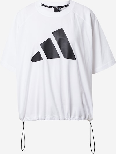 ADIDAS PERFORMANCE Funkcionalna majica | bela barva, Prikaz izdelka