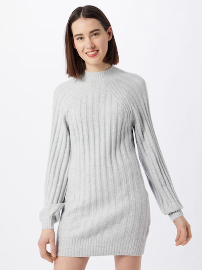 HOLLISTER Knit dress in Light grey, View model