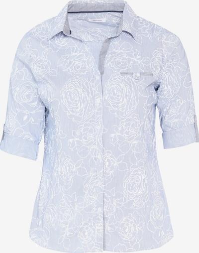 Paprika Bluse in himmelblau / weiß, Produktansicht