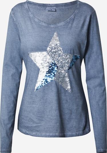 Stitch and Soul Shirt in blau, Produktansicht