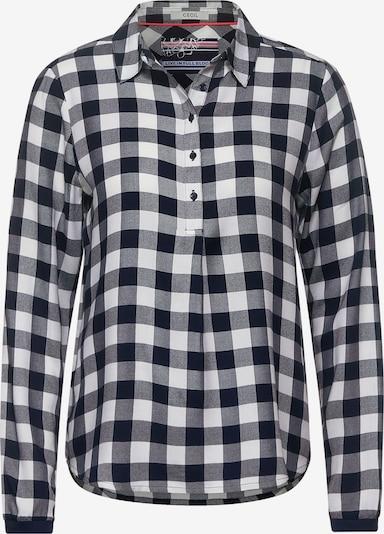 CECIL Bluse in schwarz / weiß, Produktansicht