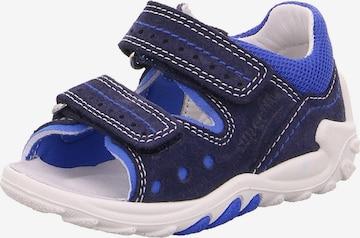 Chaussures ouvertes 'FLOW' SUPERFIT en bleu