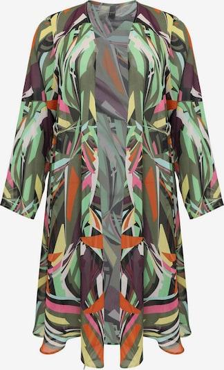 Yoek Gebreid vest ' Colours ' in de kleur Gemengde kleuren, Productweergave