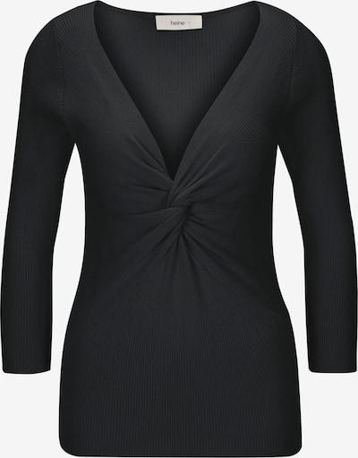 Megztinis iš heine , spalva - juoda, Prekių apžvalga