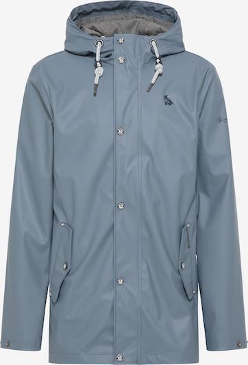Schmuddelwedda Regenjacke in blau, Produktansicht