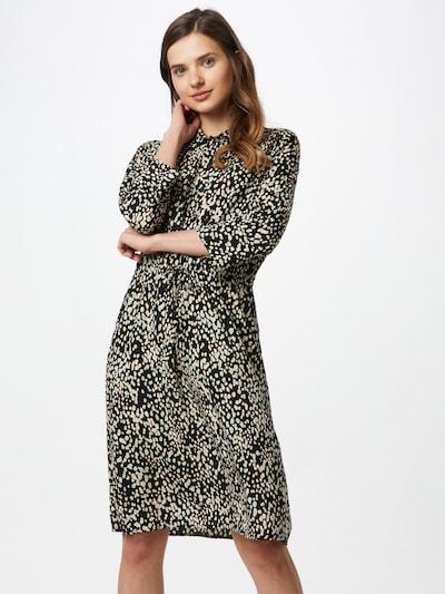 SOAKED IN LUXURY Kleid 'Ripley' in beige / schwarz, Modelansicht