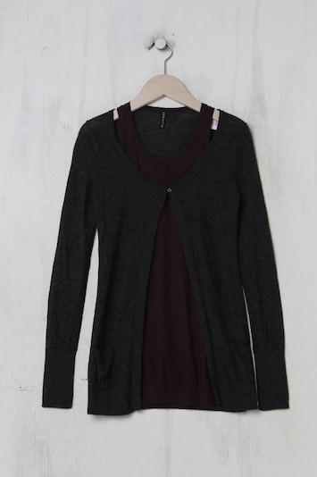 BLEIFREI Lifewear Sweater & Cardigan in XXS-XS in Anthracite / Plum, Item view