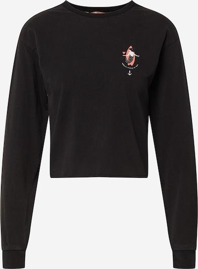 Femi Stories Shirt 'SOKA' in de kleur Lichtroze / Zwart / Wit, Productweergave