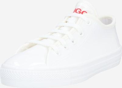 HUGO Låg sneaker i vit, Produktvy