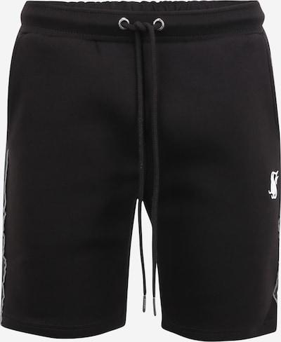 SikSilk Hose in grau / schwarz / weiß, Produktansicht