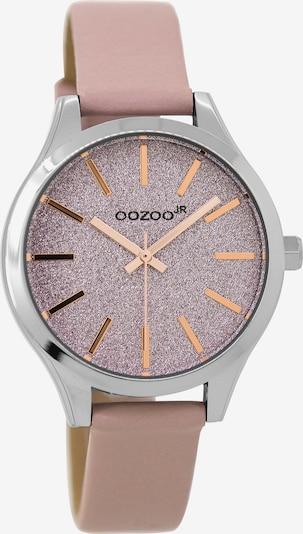OOZOO Uhr 'JR297' in rosa / silber, Produktansicht