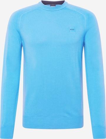 Pullover 'Anserlot' di BOSS Casual in blu