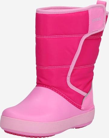Crocs Winterstiefel in Pink