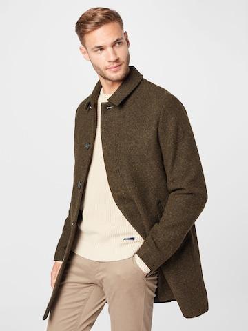 Brixtol Textiles Kevad-sügismantel 'T-coat', värv pruun