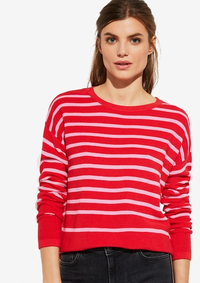 Ci comma casual identity Pullover in rot, Modelansicht