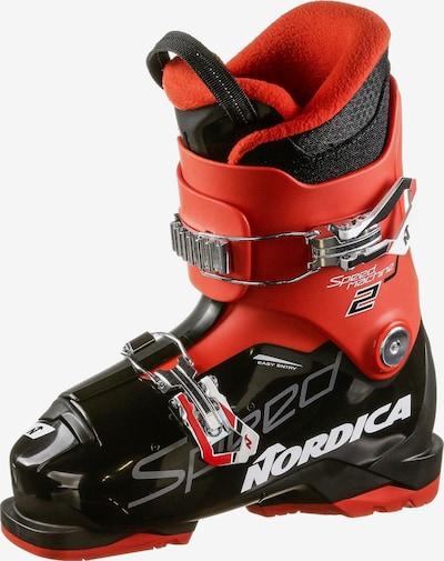 NORDICA Skischuh 'Speedmachine J 2' in rot / schwarz, Produktansicht