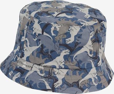 STERNTALER Hut in blau / basaltgrau / hellgrau, Produktansicht
