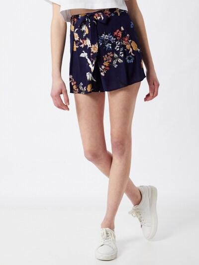 ABOUT YOU Shorts 'Giulia' in navy / mischfarben, Modelansicht