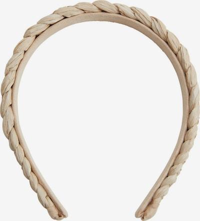 MANGO Ornement pour cheveux 'Agustina' en beige, Vue avec produit