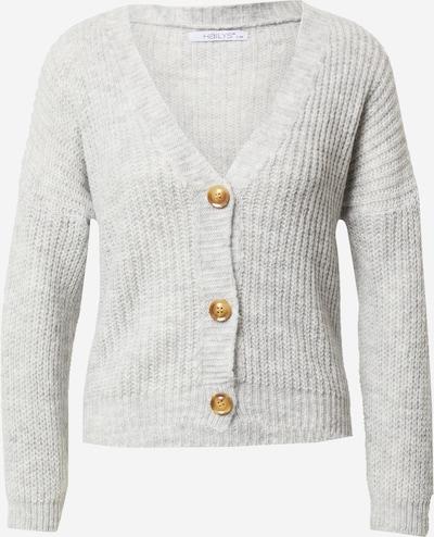 Hailys Gebreid vest 'Lucienne' in de kleur Grijs, Productweergave