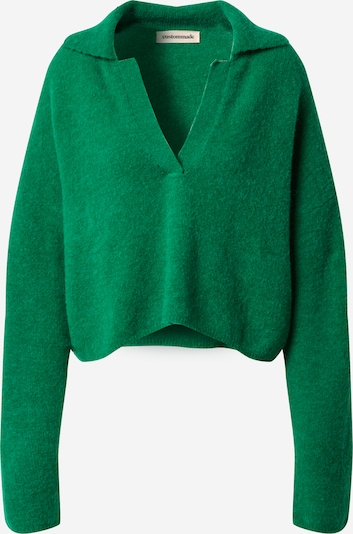 Custommade Sweater 'Marylou' in Green, Item view