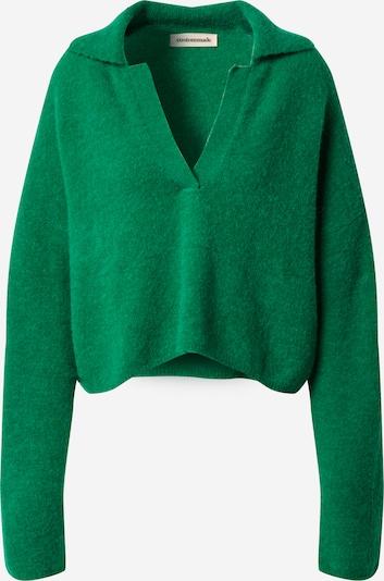 Custommade Pullover 'Marylou' in grün, Produktansicht
