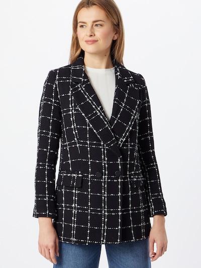 fekete / fehér Trendyol Átmeneti kabátok, Modell nézet