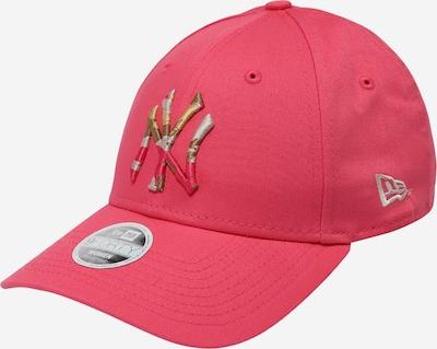 Șapcă NEW ERA pe galben auriu / gri / roz pitaya, Vizualizare produs