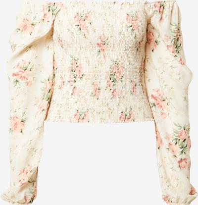 American Eagle Bluza u boja pijeska / zelena / roza, Pregled proizvoda