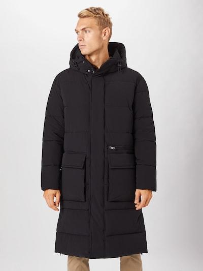 STRELLSON Manteau mi-saison en noir: Vue de face