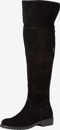 Cizme peste genunchi TAMARIS pe negru, Vizualizare produs