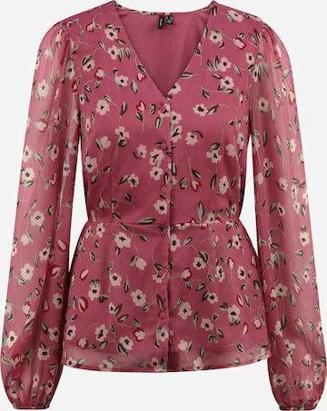 Vero Moda Tall Bluse 'KAY' in Pink