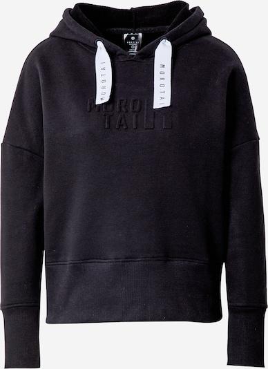 MOROTAI Спортен блузон с качулка 'NAKA' в черно / бяло, Преглед на продукта